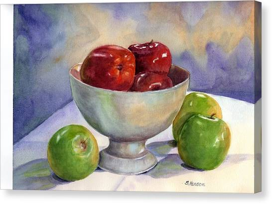 Apples - Yum Canvas Print
