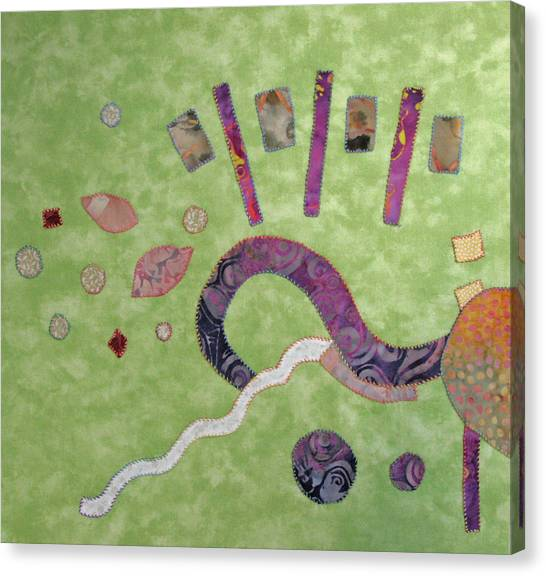 Applique 1 Canvas Print by Eileen Hale