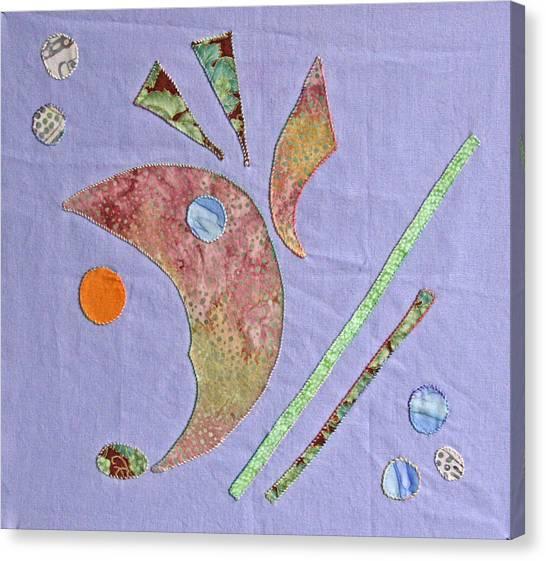 Applique 5 Canvas Print by Eileen Hale