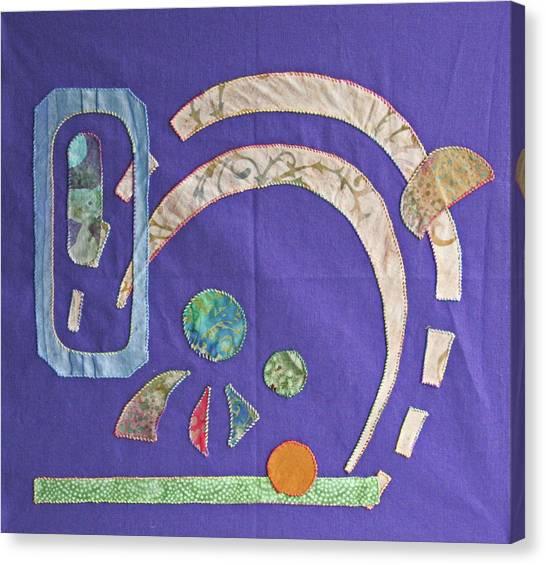 Applique 8 Canvas Print by Eileen Hale