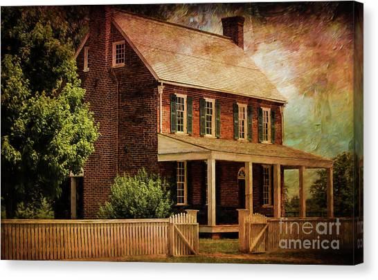 Us Civil War Canvas Print - Appomattox Court House By Liane Wright by Liane Wright