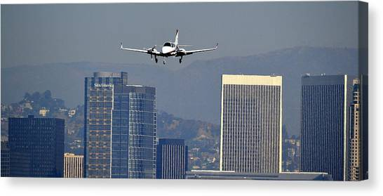 Approaching Canvas Print