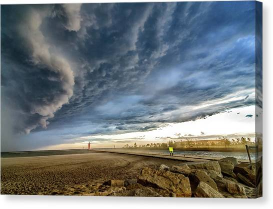 Approaching Storm Canvas Print