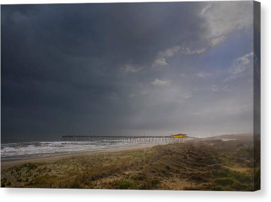 Approaching Thunderstorm Canvas Print by Andreas Freund