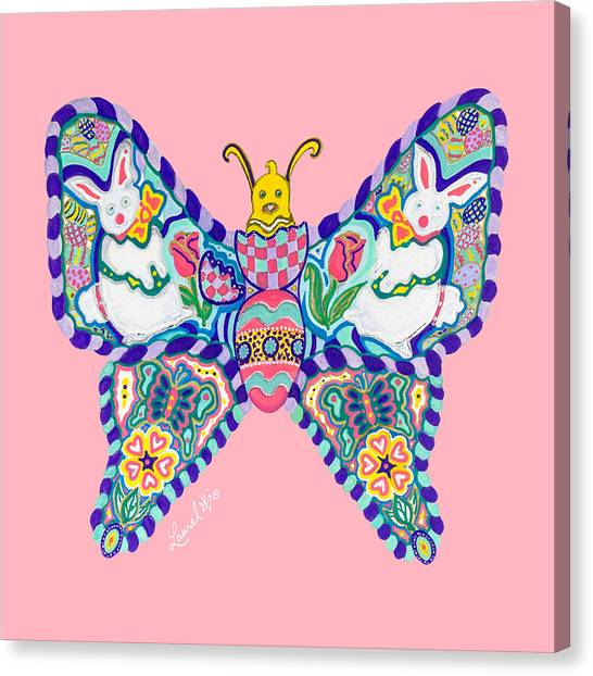 April Butterfly Canvas Print