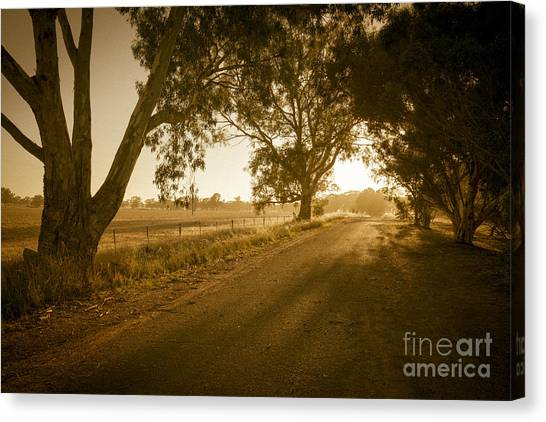 Canvas Print featuring the photograph Apsley Sunrise by Ray Warren