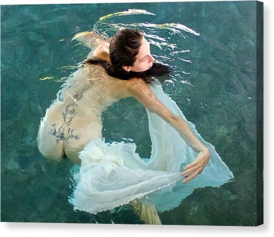 Aquadance Water Ballet Canvas Print