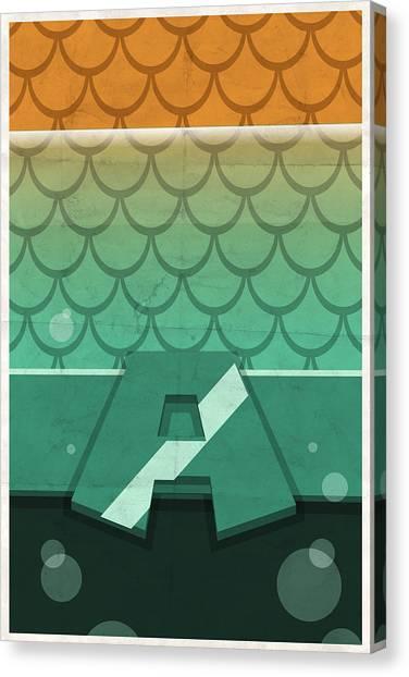 Aquaman Canvas Print