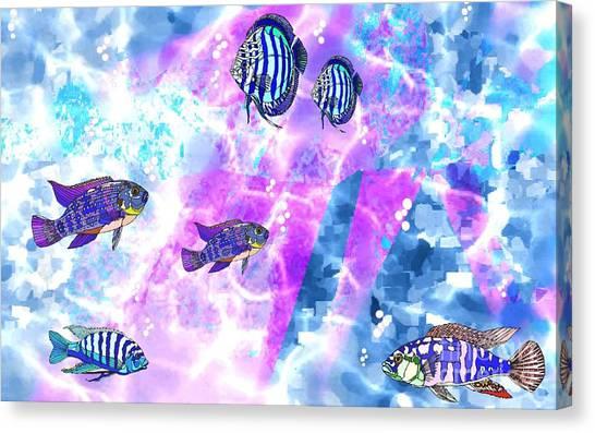 Aquarium 2 Canvas Print