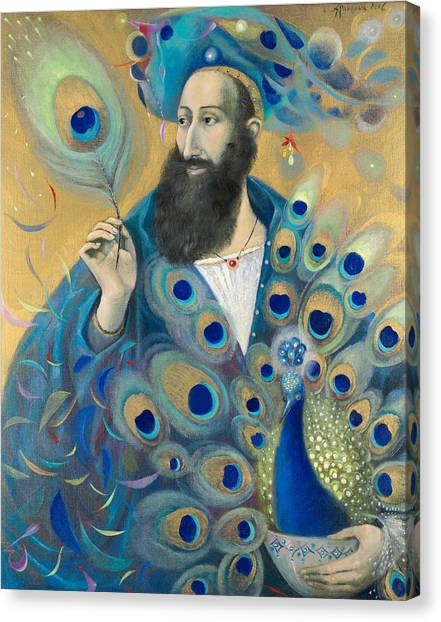 Character Portraits Canvas Print - Aquarius by Annael Anelia Pavlova