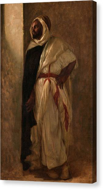 Muslim Canvas Print - Arab by Alexandre Cabanel