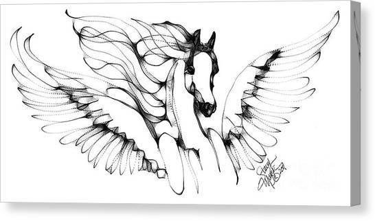 Arabian Angel Canvas Print