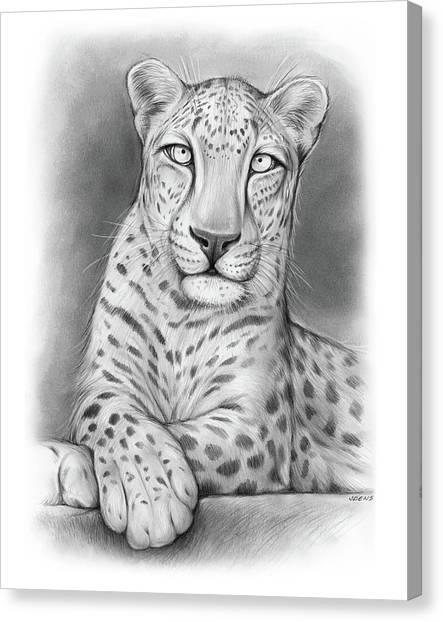 Canvas Print - Arabian Leopard by Greg Joens