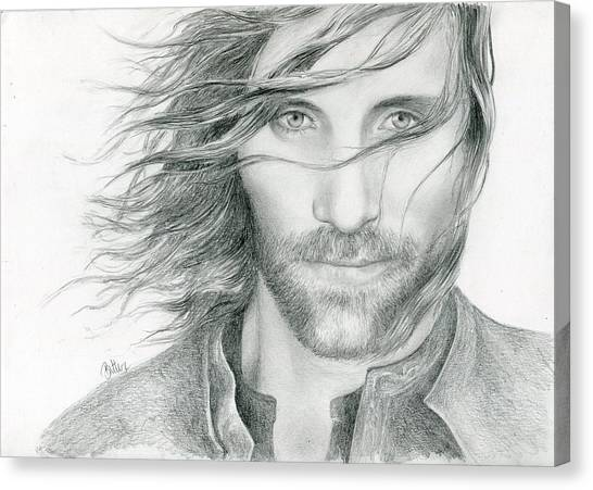 Canvas Print - Aragorn by Bitten Kari