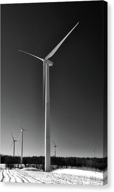 Arcade Wind Turbines 6557 Canvas Print