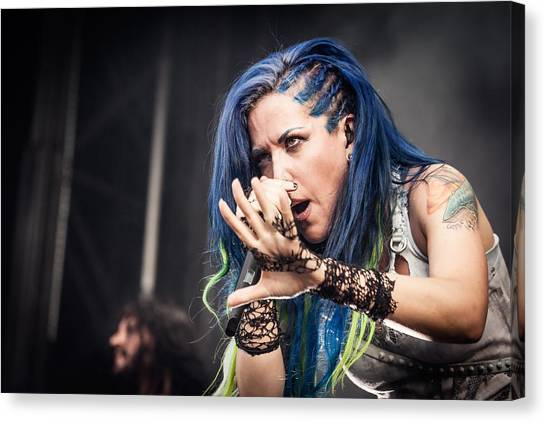 Canvas Print featuring the photograph Arch Enemy II by Stefan Nielsen