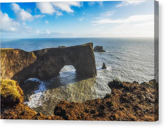 Canvas Print featuring the photograph Arch by James Billings