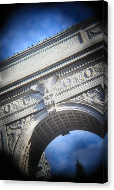 New York University Canvas Print - Arch by Jimmy Taaffe