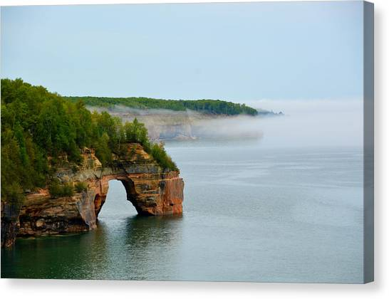 Arch Over Superior Canvas Print