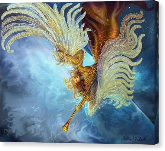 Archangel Gabriel Canvas Print