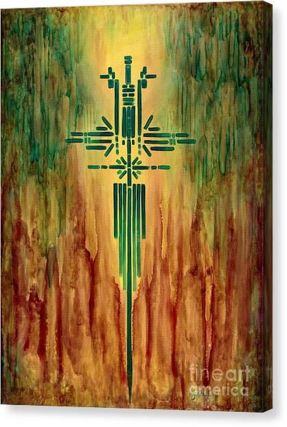 Archangel Michael Canvas Print