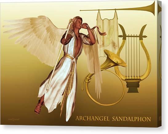 Archangel Sandalphon Canvas Print