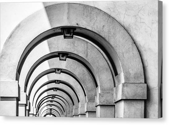 Arches At The Arno Canvas Print