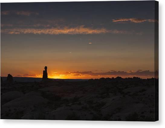 Arches National Park Sunset Canvas Print