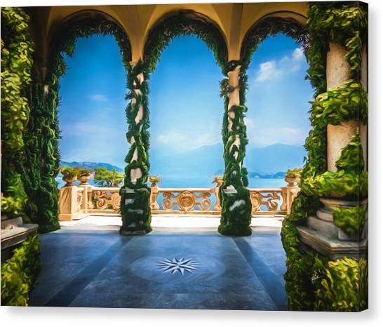 Arches Of Italy Canvas Print