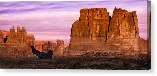 Arches Pano Canvas Print