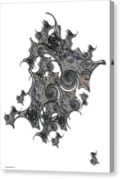 Canvas Print - Architectonic Self by Carmen Fine Art