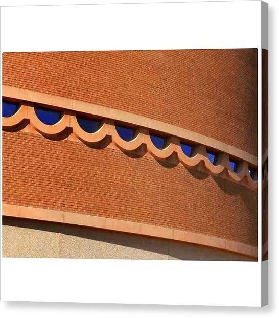 Arizona Canvas Print - Architectural Detail From Frank Lloyd by Karyn Robinson