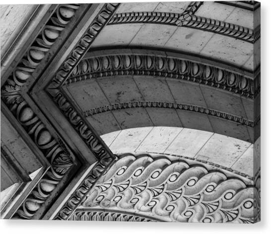 Architectural Details Of The Arc Canvas Print