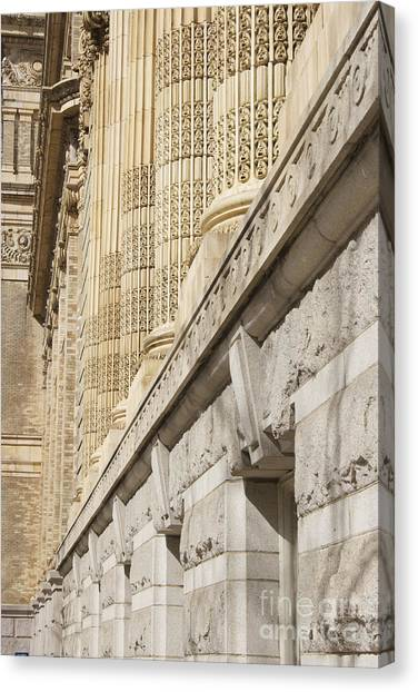 Drexel University Canvas Print - Architectural Ornament  by Clay Cofer