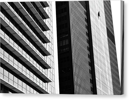 Architectural Pattern Study 3.0 Canvas Print