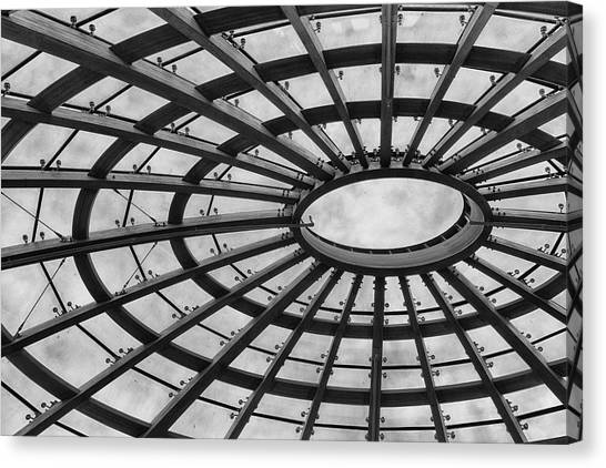 Architecture Bw 8x12 Canvas Print