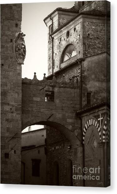 Architecture Of Pistoia Canvas Print