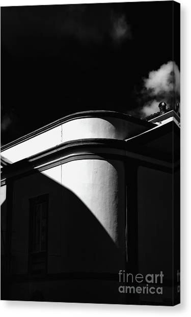 Architecture Shadow Light Game Canvas Print
