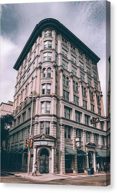 Moscow Skyline Canvas Print - Archtectural Building 3 by Celestial Images