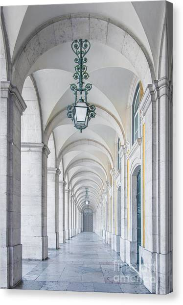 Elegant Canvas Print - Archway by Carlos Caetano