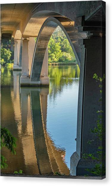 Archway Reflection Canvas Print