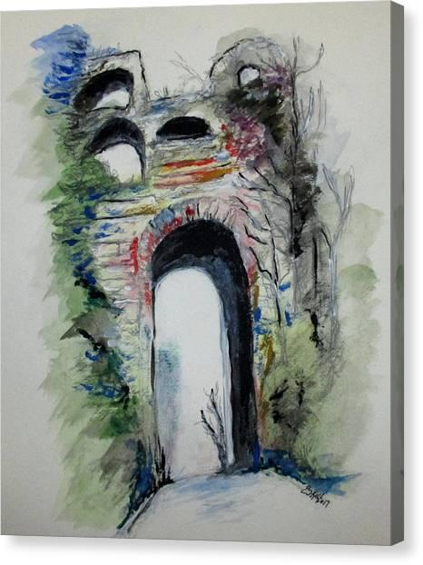 Arco Felice Napoli Canvas Print