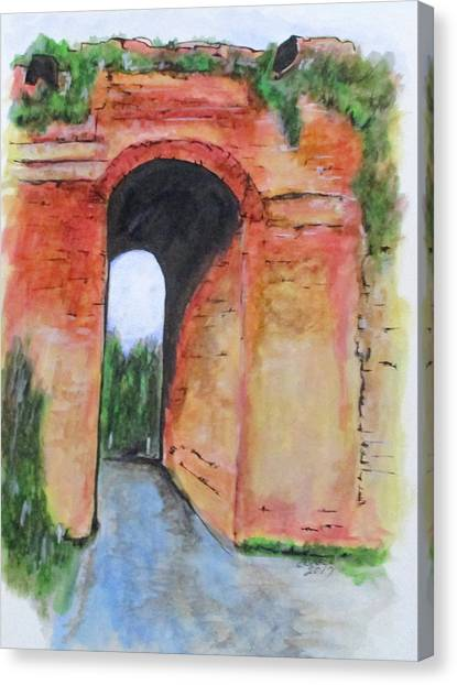 Arco Felice, Revisited Canvas Print