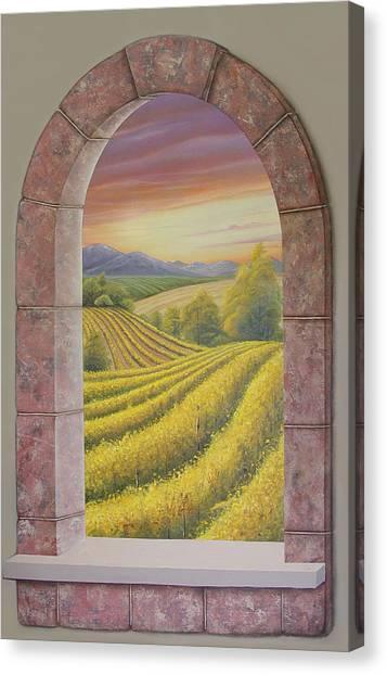 Arco Vinal Canvas Print