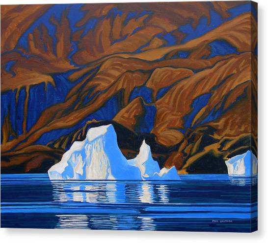 Arctic Tapestry Canvas Print by Paul Gauthier
