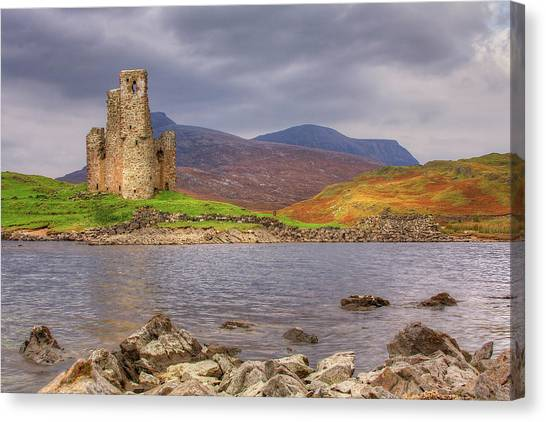 Ardvreck Castle Canvas Print