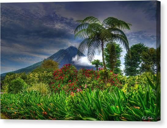 Arenal Volcano Canvas Print - Arenal Volcano by Robert Kaler