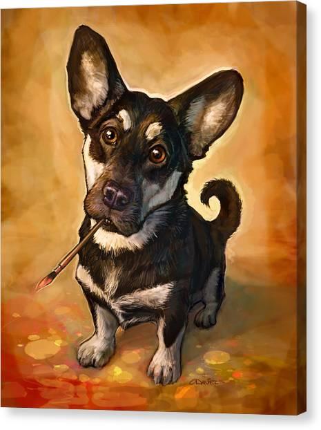 Prairie Dogs Canvas Print - Arfist by Sean ODaniels