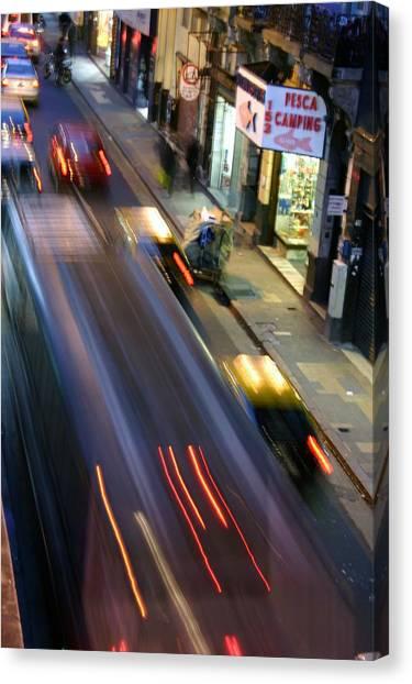 Argie Street Canvas Print