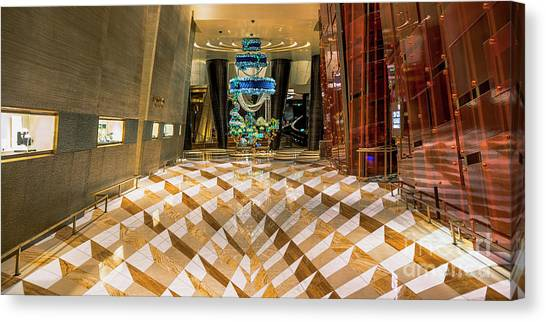 Aria High Limit Lounge Entrance Canvas Print